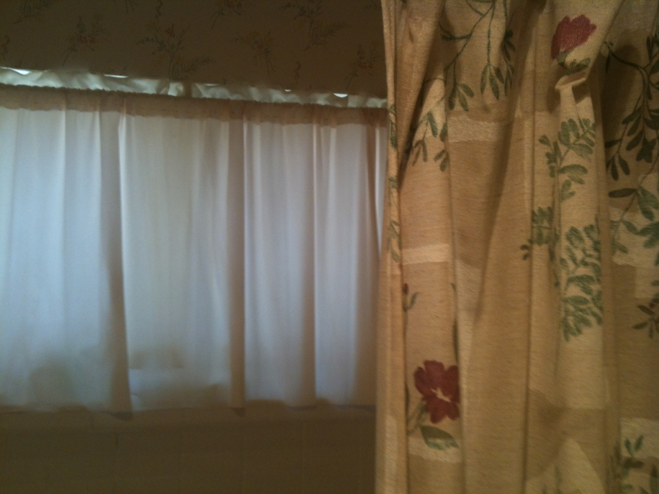 Inside curtain for shower window pictures to pin on for Bathroom window curtains