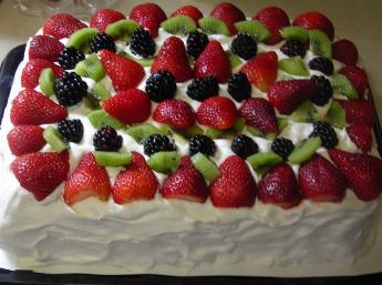 Healthy Home Blog Blog Archive Easy Summer FreshFruit Cake