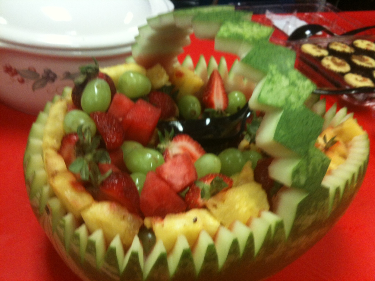 photo watermelon basket